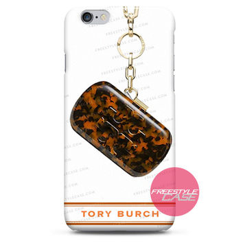 Tory Burch Logo Resin Clutch  iPhone Case 3, 4, 5, 6 Cover