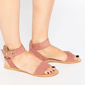 ASOS FRANCIS Suede Two Part Sandals at asos.com