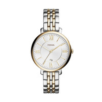 Jacqueline Two Tone Stainless Steel Watch | Fossil