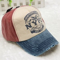 Baseball Cap ny   Fitted Hat Baseball Caps Casual Outdoor Sports Snapback Hats Cap Printing Baseball Cap Flat Blank s s