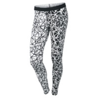 Nike Leg-A-See AOP Women's Tights - White