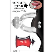 Tongue Star Vibe W-10 Ml Liquor Lube Pillow - Clear