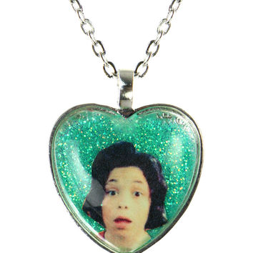 BB SCUMBAG GLITTER NECKLACE