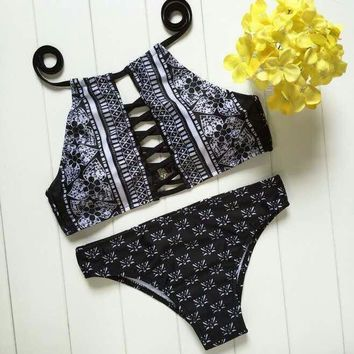 Summer New Arrival Sexy Swimsuit Hot Beach Swimwear Floral Ladies Bikini [8838131277]