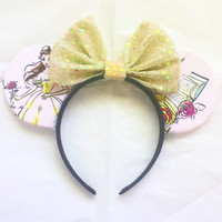 Princess Belle Mouse Ears