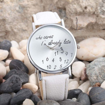 Late or Not, You'll Love This Fun Watch