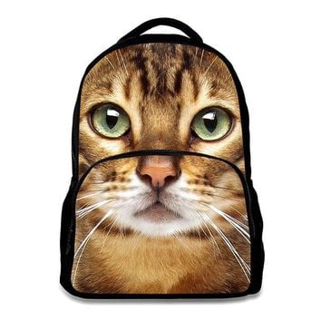 University College Backpack 3D Pet cat printing s men multifunctional fashion cool big capacity s  tide bags DOG3AT_63_4