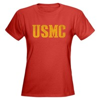 USMC - Tee on CafePress.com