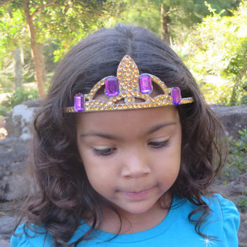 Princess Belle - Disneys Beauty and The Beast - Princess Hair Accessories - Girls Hair Accessories - Princess Costume - Dress Up Girls