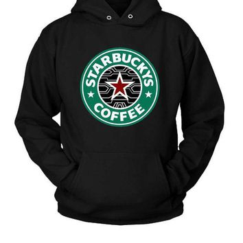 CREYP7V Bucky Barnes The Winter Soldier Coffee Hoodie Two Sided