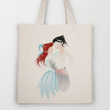 Disney - Ariel & Eric Tote Bag by Jessica Slater Design & Illustration