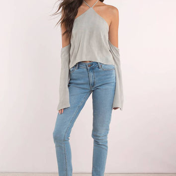 Emma Cold Shoulder Top
