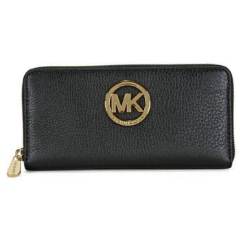 NWT Michael Kors Jet Set Travel Large Coin Multifunction Phone Case 100% Authent
