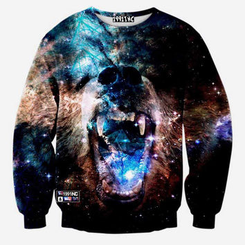 Grizzly Bear Space Pullover