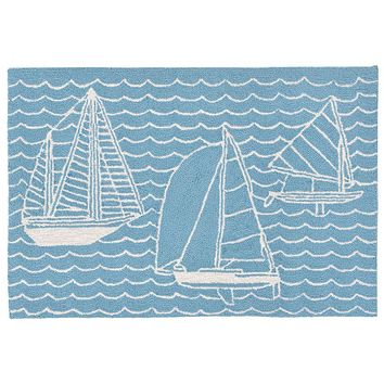 Trans Ocean Capri Sails Indoor/Outdoor Rug