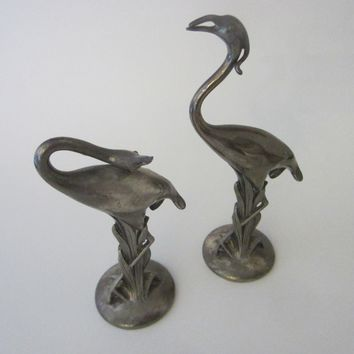 Weidlich Brothers Exotic Birds Signed Silver Arts