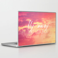Fly Away Laptop & iPad Skin by M Studio