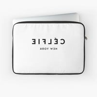 'Celfie New York' Laptop Sleeve by printapix