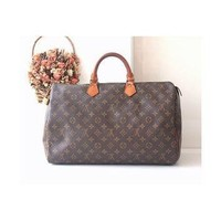Tagre™ Louis Vuitton Bag Speedy 40 Monogram Vintage Handbag