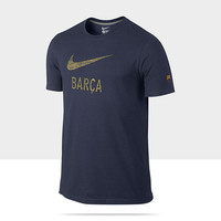 Check it out. I found this FC Barcelona Basic Type Men's Soccer T-Shirt at Nike online.
