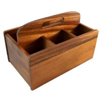 Threshold™ Acacia Utensil Caddy - Natural