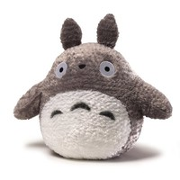 "Gund Fluffy Big Totoro Grey 13"" Plush"