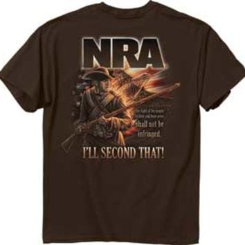 "(ALL-NEW-OFFICIALLY-LICENSED,""N.R.A.-I'LL-SECOND-THAT"",POPULAR-QUOTE-ON-A-NICE-DETAILED-DOUBLE-SIDED-GRAPHIC-PRINTED-PREMIUM-TEES:)"