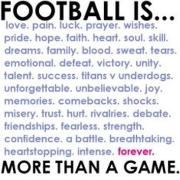 american football tumblr quotes - Google Search