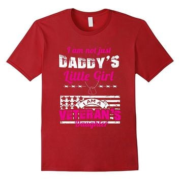 Daddy's Little Girl Veteran's Daughter T Shirt
