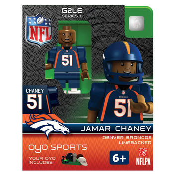 Jamar Chaney NFL Denver Broncos Oyo G2S1 Minifigure