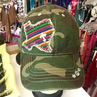 Camo/Cactus Texas from PeaceLove&Jewels