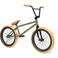 2015 FIT PK 3 BMX Bike Dank Green