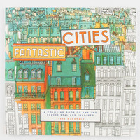 Fantastic Cities Coloring Book Multi One Size For Women 27419595701