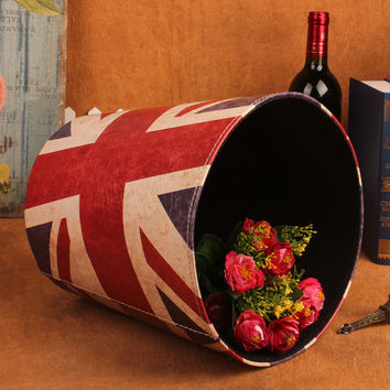 Innovative England Style Simple Design Vintage Rubbish Bin [11676873039]
