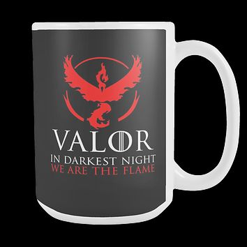 Pokemon valor in darkness knight we are the flame 15oz Coffee Mug- TL00627M5