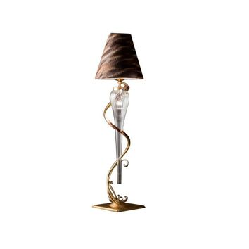 CJ103 GOLD FLOOR LAMP
