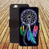 dream catcher Case iphone 5/ 5s iphone 4/ 4s iPhone 6 6 Plus iphone 5C Wallet Case , iPhone 5 Case, Cover, Cases colorful pattern L004
