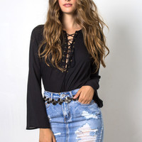 Decker It's On You Blouse - Black