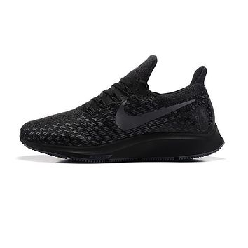 Nike Air Zoom Pegasus All Out Flyknit Black Black