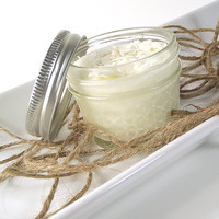 Soy Candle - Sugar Cookie scented Soy Candle -- 4 ounce Mason Jar