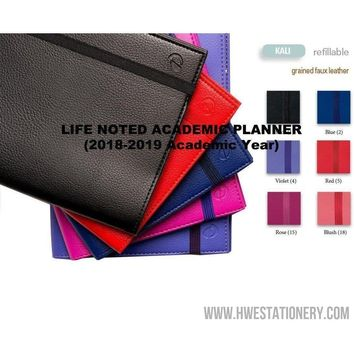 Kali Academic Life Noted Planner (2018/2019 Academic Year) [Quo Vadis]