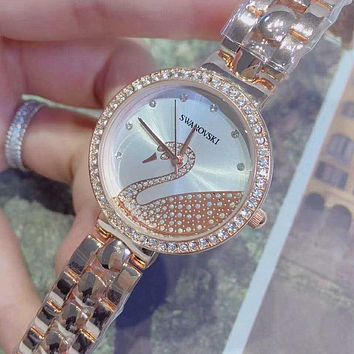 Swarovski Women Fashion Quartz Watches Wrist Watch