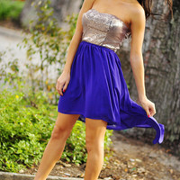 Longing For Love Dress: Purple | Hope's