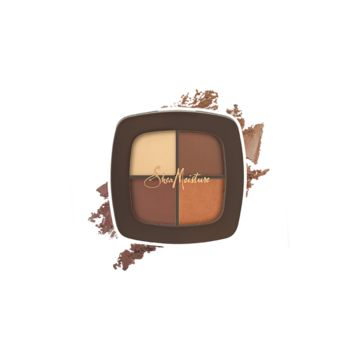 Mineral Eyeshadow Quad - Wet/Dry - Candlelight