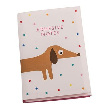 ADHESIVE NOTE SET: CUTE