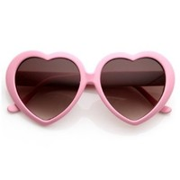 Leegoal Super Cute Heart Shaped Sunglasses Lovely Fashion Eyewear