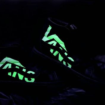 Luminous version vans Winter Black Neutral board shoes casual Shoes