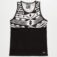 Neff Brative Boys Tank Black  In Sizes