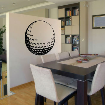 Vinyl Wall Decal Sticker Golf Ball #OS_AA715