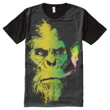 BIGFOOT RASTA All-Over-Print T-Shirt